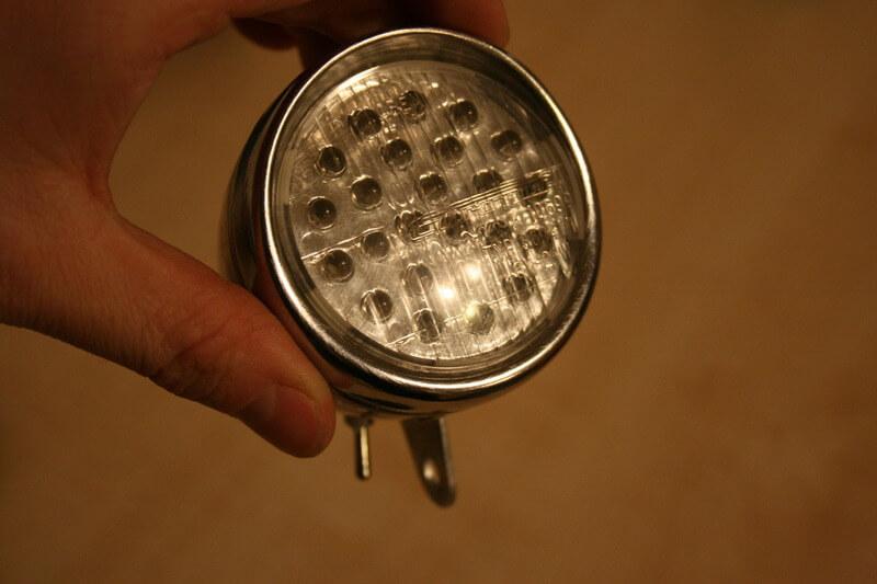 Retrofitting Bike Light Old Dynamo Bulb To A Battery Led Ambience