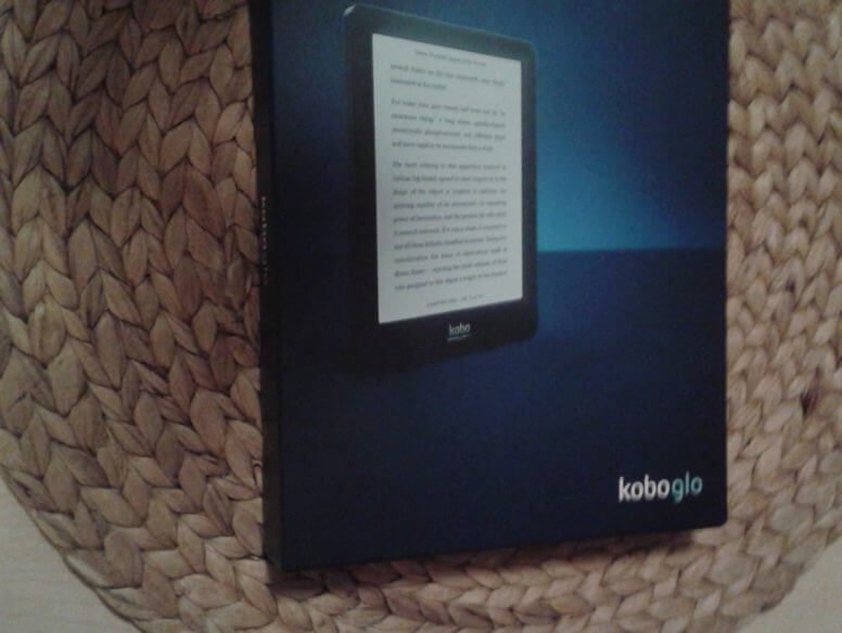Kobo Glo unboxing - the box